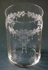 etched stemware patterns including Bo Peep, Roseland and Springtime
