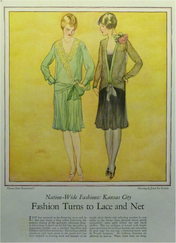 1928 Kansas City Dress ad